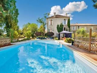 Elegant character home with private pool