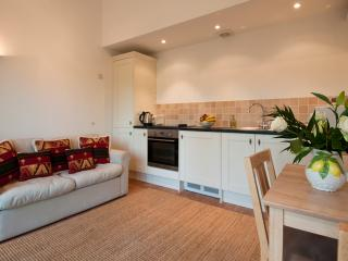 Large Kitchenette with dining table and sofa to truly relax