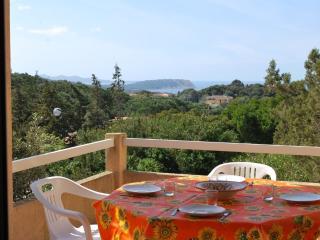 Bilocale delle Palme con vista mare e piscina, Santa Teresa Gallura