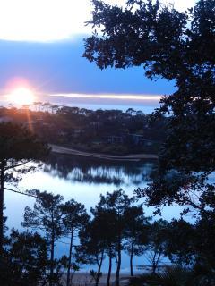 Le lac de Hossegor