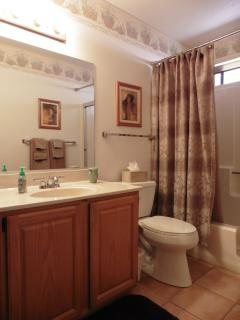B - Hall Bath (Master Bath similar)