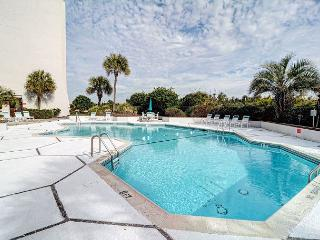 Station One - 7B - Oceanfront condo with community pool, tennis, beach