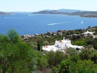 the villa is surrounded by private land
