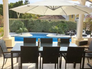 Palm Villa- TOTS SAFE VILLA+GATED POOL, Puerto Banus