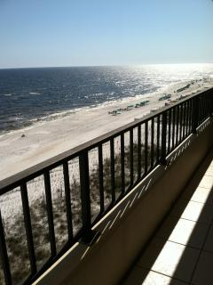 30 foot Balcony overlooking Beach and Gulf, Fort Walton Beach