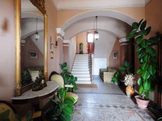 Entrance hall to villa