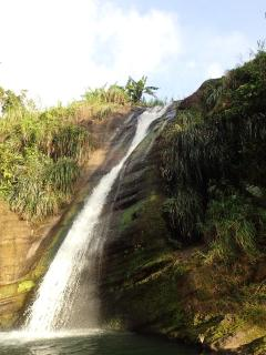 View of a waterfall