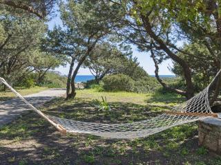 private path beachfront villa  Anemos Gennadi