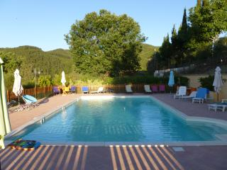 B&B con piscina in Messenano Spoleto (Green Room)
