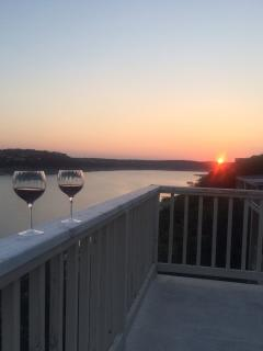 Unwind on the top deck after your day of activities