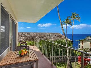 Totally Updated, 2bd/2ba, Ocean Views, Minutes to Poipu Beach, Elevator, Koloa