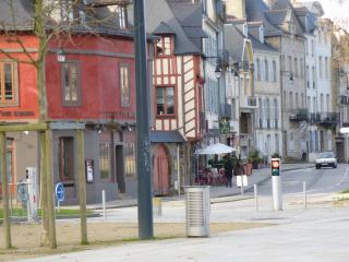 maisons à colombages de Vannes