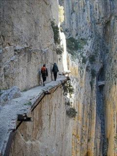 Caminito del Rey - prior to refurbishment!!