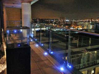 Luxury large city centre penthouse great views, Manchester