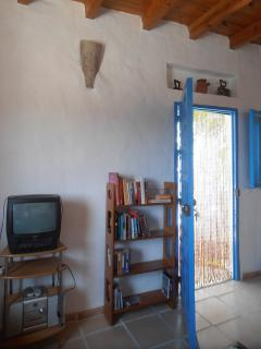 living room/door to patio