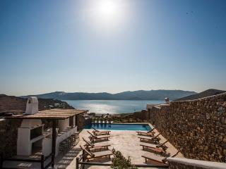 Mykonos-Panormos 4-Schlafzimmer, Pool Villen