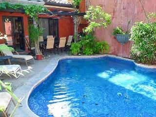 Beautiful private villa- pool, a/c, gas grill, across from the beach!