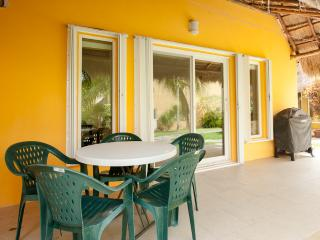 Great 1st floor patio with gas grill
