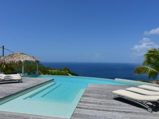 Blue Swan Stunning views and a short drive into Gustavia