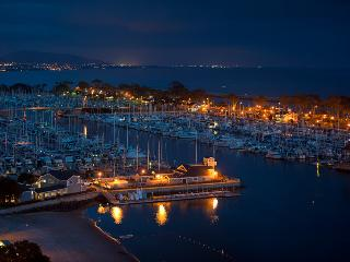 Dana Point Harbour with 2500 yachts and 50 shops