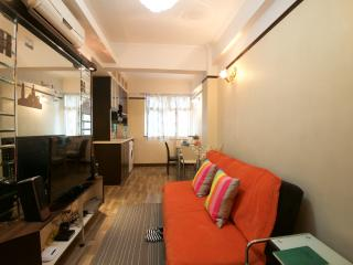 * 2- Bdr In the center of the city! 1-6 ppl MRT *, Hong Kong