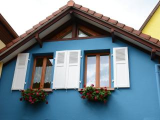 Holiday rental :  the Blue House in Alsace, Bergheim