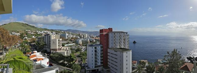 Panoramic view from the condo.