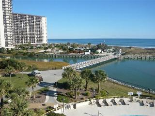 Oceanside view, Ocean Creek S Tower #QQ1, N Myrtle Beach, SC