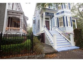 Large Victorian home a block from Forsyth Park, Savannah