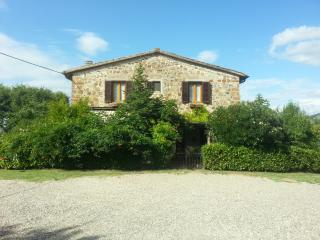 Typical Tuscan countryhouse in Chianti, Italy, Tavarnelle Val di Pesa