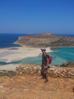 Balos beach 25 km distance