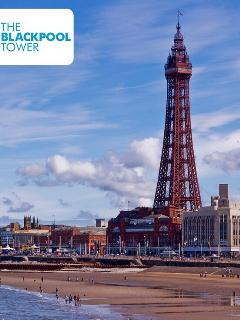 World famous Blackpool Tower and Circus