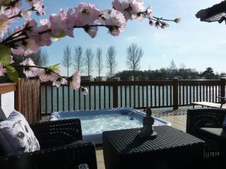 Tally Ho 3 ! Luxury let; hot tub, fishing and wifi, Tattershall