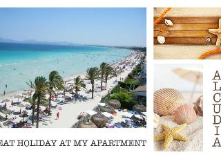 3 min TO THE BEACH    NICE APARTMENT   GREAT PRICE, Alcudia