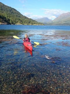 Numerous fabulous lochs to kayak including Lochness. You are never too far from sea and fresh water.
