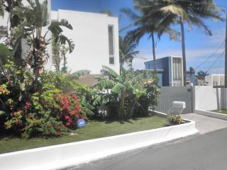 front of our home