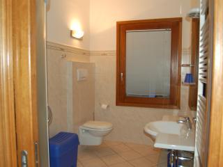 Large, modern bathroom