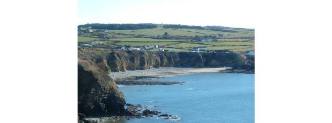 Church Bay Beach from the coastal path