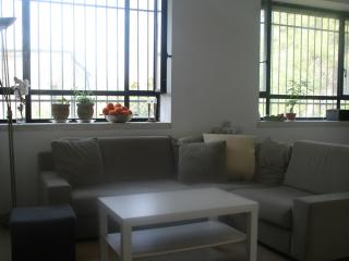Lovely apartment with a yard in Jerusalem, Jerusalén