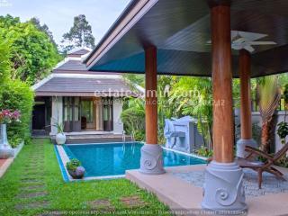 Luxury 3 bedroom Villa Abiss with Private Pool, Koh Samui
