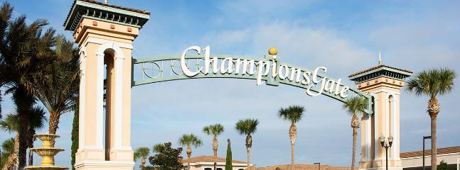 Notre villa est dans la belle région de Champions Gate
