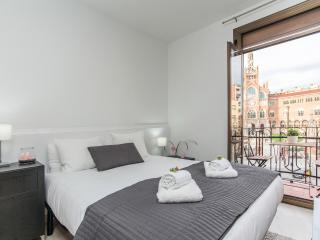 1 Bedroom Apt with great view on Hospital Sant Pau