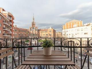 1 Bedroom Apt with great view on Hospital Sant Pau, Barcelona