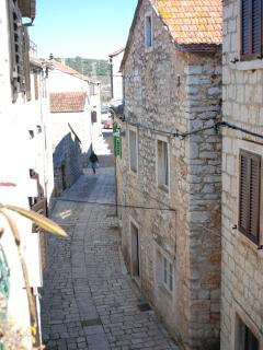 Street view from roof terace