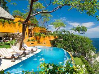 8 bedroom ocean-front vacation rental villa in Puerto Vallarta Mexico