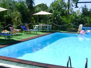 Villa with private pool beach