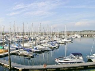 Troon Marina which is a 4 minute walk from the penthouse.