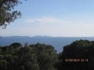 Les LAVANDES, belle vue mer, sur terrain classé., La Croix-Valmer