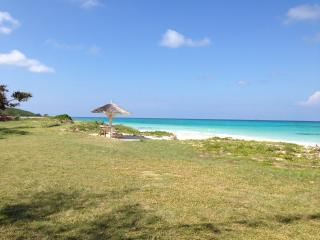 Crystal clear turquoise waters and soft white sand awaits you