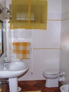 One of shower rooms